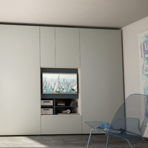 Armadio Flat Tv - Camere da letto - Gambula Arredamenti