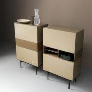 Brick Light Brown - Mobile Soggiorno - Living Room - Gambula Arredamenti