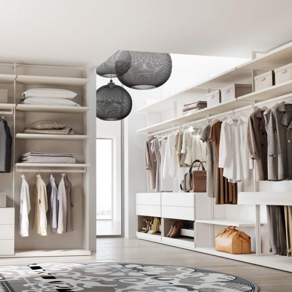 Stunning camera da letto cabina armadio pictures design for Camera da letto in stile cabina