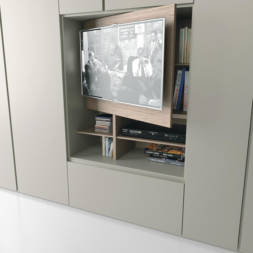 Dettaglio Armadio Grafik TV - Camere da letto - Gambula Arredamenti ...
