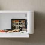 Dettaglio - Mobile Living - Side White - Living Room - Gambula Arredamenti
