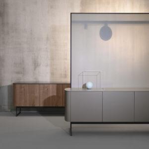 Dettaglio Mobile Sideview Beige - Living Room - Gambula Arredamenti