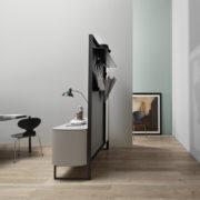 Laterale Mobile Sideview Beige - Living Room - Gambula Arredamenti