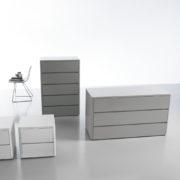 Linea Notte Soft - Cassettiere e Comodini - Gambula Arredamenti - Negozio di mobili e arredamenti in Sardegna
