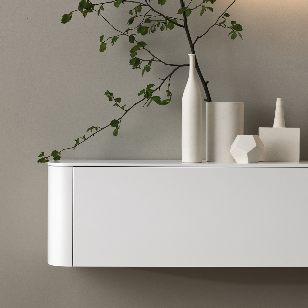 Mobile Living Side - Side White - Living Room - Gambula Arredamenti