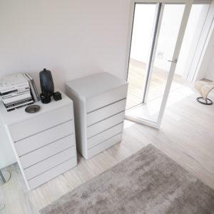 Panoramica Linea Notte Soft - Cassettiere e Comodini - Gambula Arredamenti - Negozio di mobili e arredamenti in Sardegna