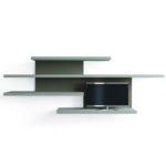 Parete Soggiorno Movida - Mensole Soggiorno - Soluzione 3 - Living Room - Gambula Arredamenti
