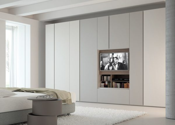 Armadio Grafik Con Porta Tv | Gambula Arredamenti