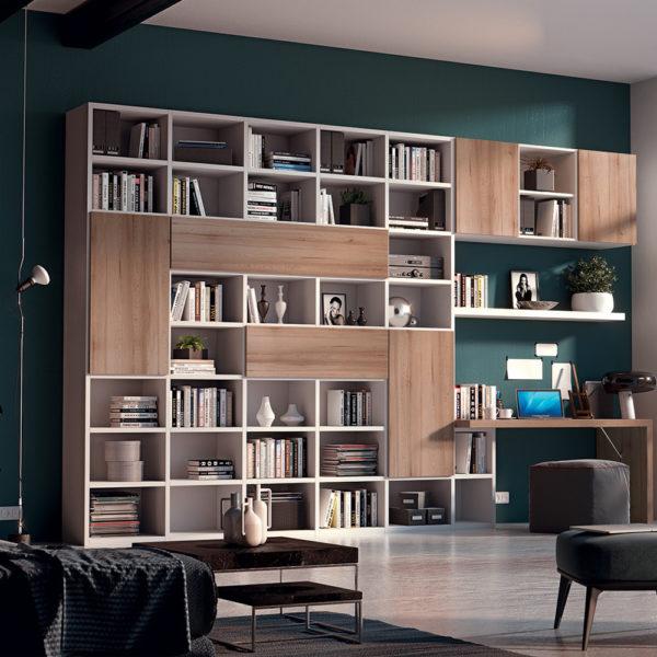 Giessegi mobili gallery of giessegi job libreria verticale appesa a muro legno cielo x with - Giessegi mobili opinioni ...