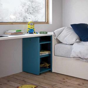 Camerette Nidi- Cameretta Space 3 Kids - Dettaglio - Gambula Arredamenti - Negozio di mobili e arredamento in Sardegna