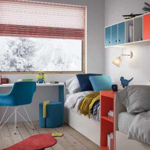 Camerette Nidi- Cameretta Space 3 Kids Panoramica - Gambula Arredamenti - Negozio di mobili e arredamento in Sardegna
