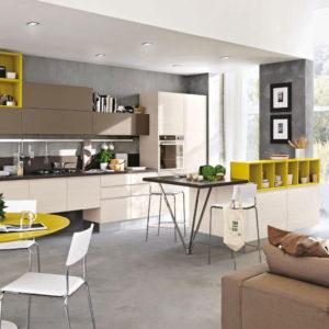 Cucina Lube Linda - Panoramica 2 - Cucine - Gambula Arredamenti - Negozio di mobili e arredamento in Sardegna