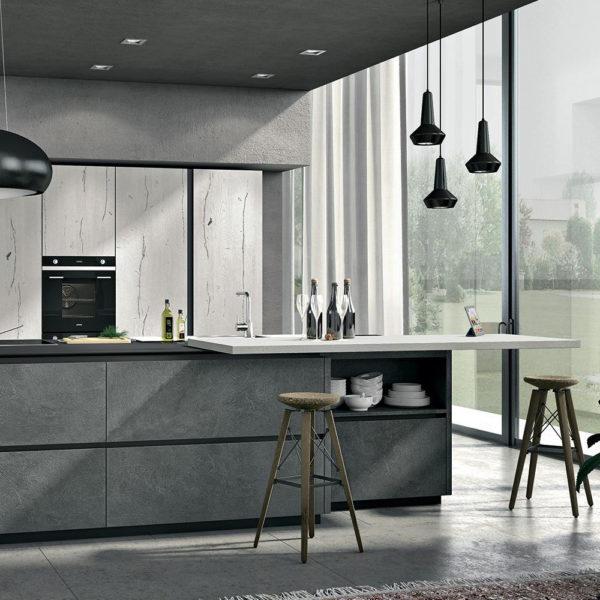 Latest cucina lube oltrenek panoramica cucine gambula for Pasini arredamenti