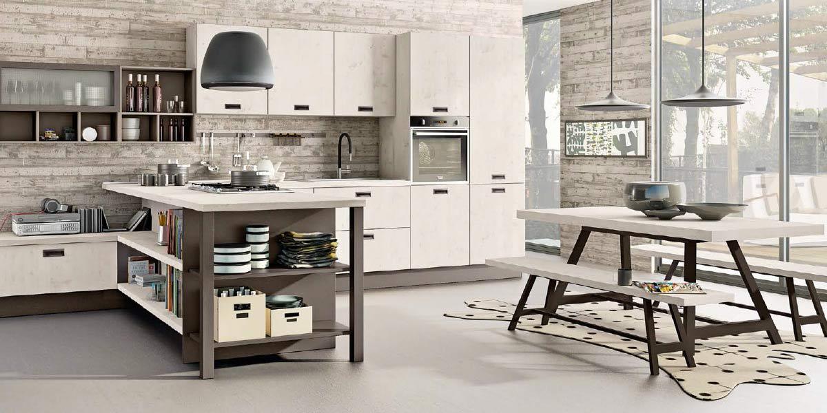 Cucina kyra gambula arredamenti for Carta adesiva lavabile per cucina