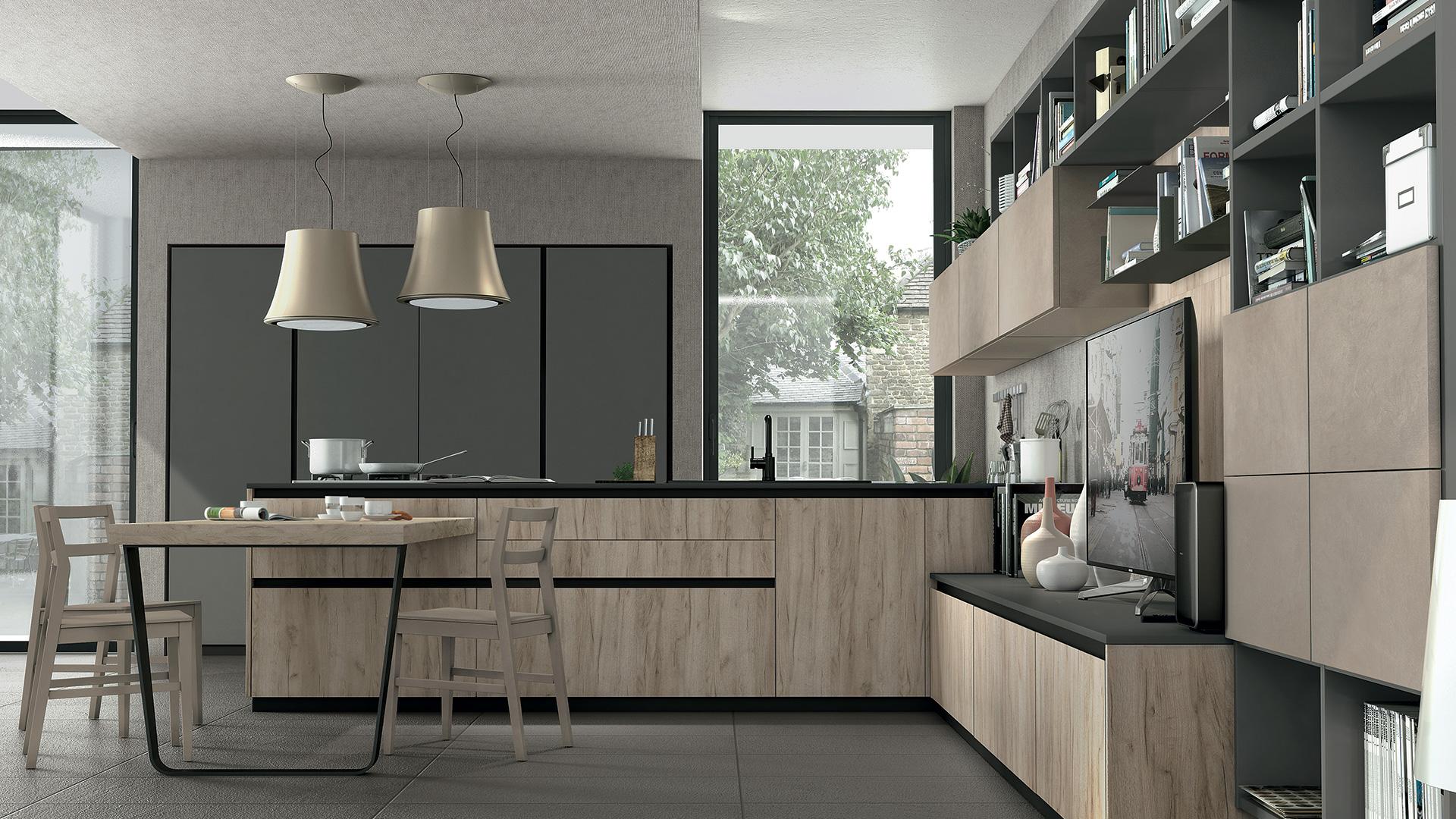 Cucine Lube - Cucine Moderne - Immagina - 3 | Gambula Arredamenti