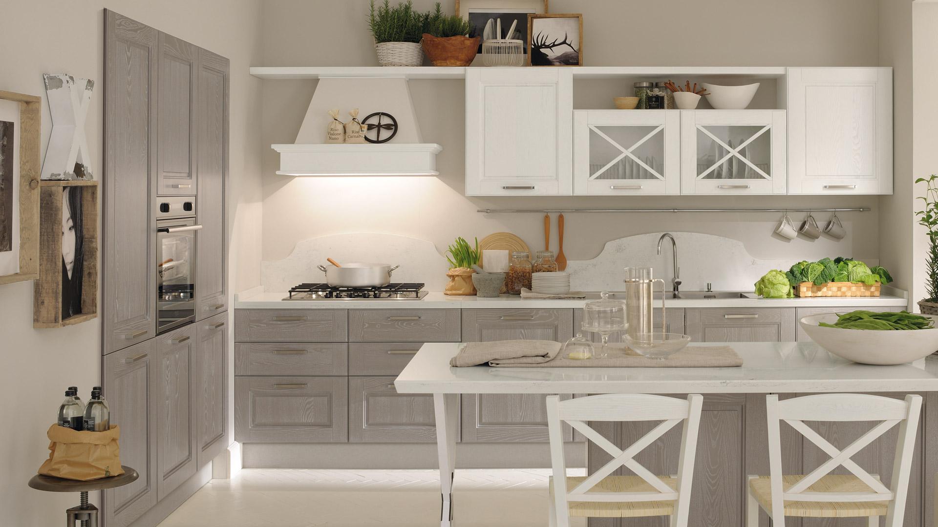 Cucine Lube - Cucine classiche - Agnese -3- Gambula Arredamenti ...
