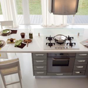Cucine Lube - Cucine classiche - Claudia -2- Gambula Arredamenti - Negozio di arredamenti nel Sulcis Iglesiente