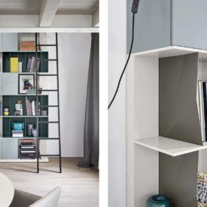 Novamobili Libreria Reverse - 1 - Gambula Arredamenti - Negozio di arredamenti nel Sulcis Iglesiente