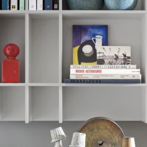 Novamobili Libreria Slim -1 - Gambula Arredamenti - Negozio di arredamenti nel Sulcis Iglesiente