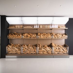 Banco alimentare - Scaffali Multifood - Frigomeccanica - Contract - Gambula Arredamenti - Negozio di arredamenti nel Sulcis Iglesiente - 1