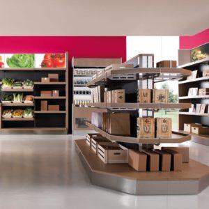 Banco alimentare - Scaffali Multifood - Frigomeccanica - Contract - Gambula Arredamenti - Negozio di arredamenti nel Sulcis Iglesiente - 3