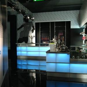 Bar Strip Led - Frigomeccanica - Contract - Gambula Arredamenti - Negozio di arredamenti nel Sulcis Iglesiente