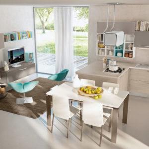 Cucine Lube - Cucina Swing - Gambula Arredamenti - Negozio di Arredamenti nel Sulcis Iglesiente 3