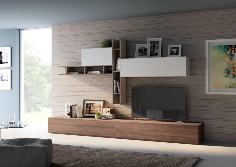 Libreria 517 Living - Giessegi - Gambula Arredamenti - Negozio di arredamenti nel Sulcis Iglesiente