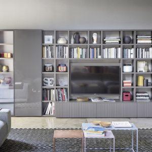 Libreria Wall 30 - Novamobili - Gambula Arredamenti - Negozio di arredamenti nel Sulcis Iglesiente 3