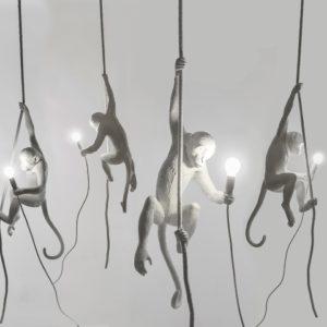 SELETTI GAMBULA MONKEY LAMP ILLUMINAZIONE