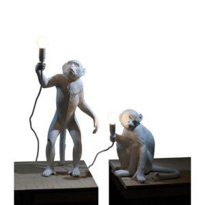 SELETTI GAMBULA MONKEY LAMP LAMPADA