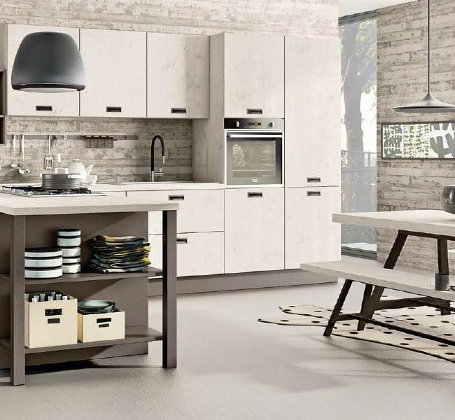 Creo Kitchens - Cucine Moderne - Kyra - 1- Gambula Arredamenti - Negozio di arredamenti nel Sulcis Iglesiente