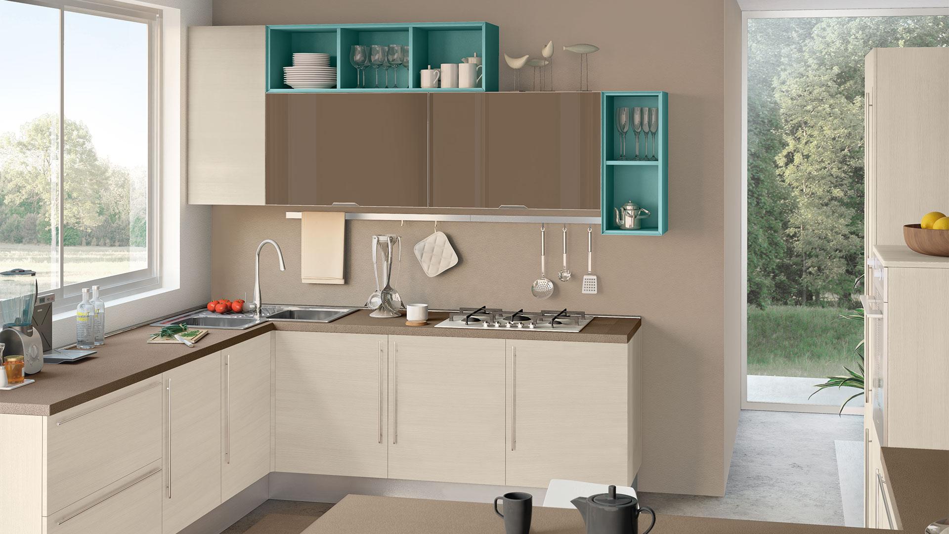 Cucine Lube - Cucine Moderne - Noemi - 3 | Gambula Arredamenti