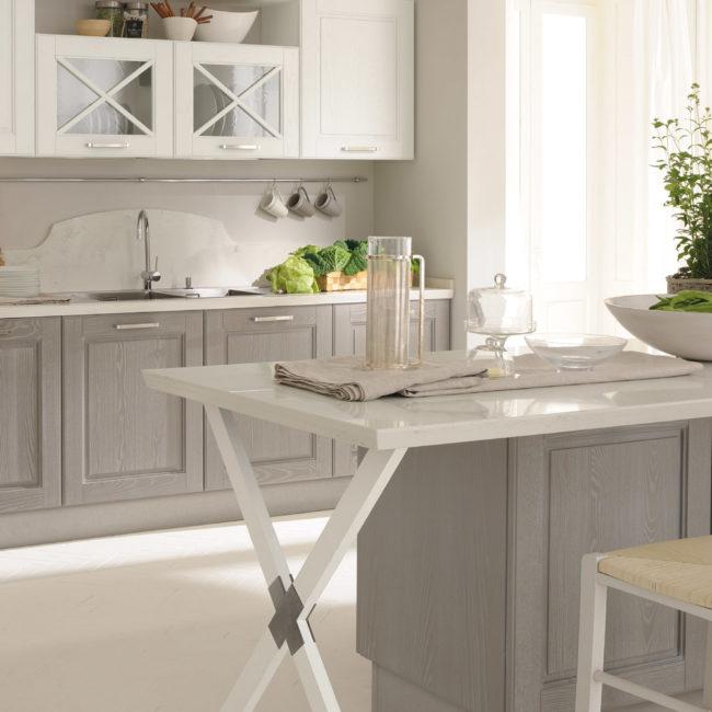 Cucine Lube - Cucine classiche - Agnese -1- Gambula Arredamenti - Negozio di arredamenti nel Sulcis Iglesiente