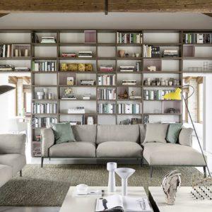 Libreria Wall 30 - Novamobili - Gambula Arredamenti - Negozio di arredamenti nel Sulcis Iglesiente
